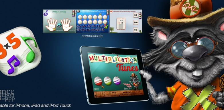 Multiplication Tunes app